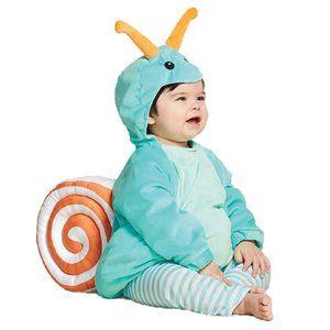 Hyde & Eek Baby Plush Snail Halloween Costume